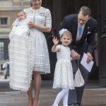 スウエーデン王室・オスカル王子の洗礼式