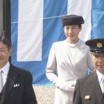 皇太子一家 神武天皇陵を参拝  雅子様はまた同じドレス