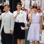 皇太子一家山の日式典出席で長野入り