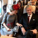 ベルギー国王御夫妻 安倍総理と会談、新幹線で愛知、名古屋へ