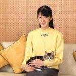 愛子様15才の誕生日 猫が可愛過ぎ!激痩せで心配!追記有り