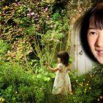 秘密の花園の中の愛子さま