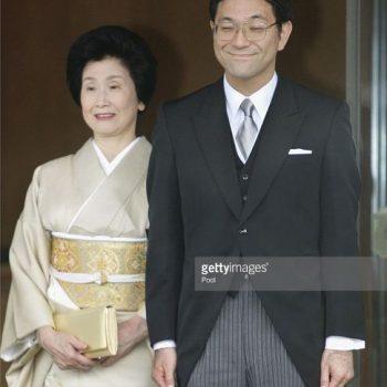 黒田清子さんのお義母さんの素晴らしい着物姿と嫁ぐ清子さんより派手な美智子さま