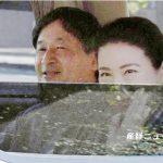 これが最後の「お手まき」と「給桑」雅子さま車内からお手振りでした。