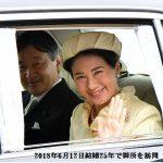 皇太子ご夫妻 結婚25年で両陛下にあいさつ*美智子さまの頭髪と雅子さまの眉毛をボケ―っと見た。
