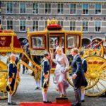 オランダ王室 黄金の馬車とガラスの馬車12㎝ヒールの靴*皇室の儀装馬車1号から4号