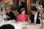 12月11日、カール・グスタフ国王主催晩餐会