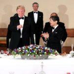 トランプ米大統領夫妻を迎えて晩餐会 動画追加 お出迎えからメラニア夫人 雅子さま 紀子さまのドレスなど