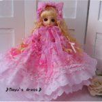 テスト投稿 ピンク色の猫姫様ドレス