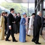 即位礼正殿の儀、茶会での 小和田夫妻他 あんな人こんなことの画像