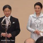 饗宴の儀第3日は立食形式で、雅子さまはじめ女性皇族方は今回も洋装でした