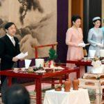 大饗の儀2日目 雅子さま珍しいサーモンピンクのドレスが似合っていました*林真理子さん即位関連の儀式に何度も出席