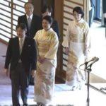 饗宴の儀4回目秋篠宮紀子さま眞子さま佳子さまの着物画像、華子さま他女性宮家の振り袖