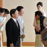 天皇皇后両陛下文化勲章受章者ら招きお茶会 華やかに着物でした。雅子さま 紀子さま 眞子さま 佳子さま