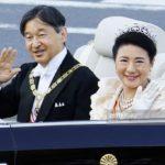即位を祝うパレード祝賀御列の儀をテレビで観て*雅子さまは3回目の花びらフリルドレスでした。