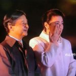 雅子さま涙ぐまれてました、天皇陛下ご即位をお祝いする国民祭典 嵐が歌った曲の動画