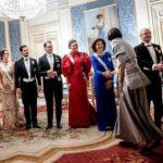 スウェーデン王室国王主催のノーベル賞受賞者のための晩餐会