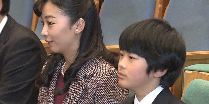 悠仁さまと佳子さま少年の主張全国大会に出席