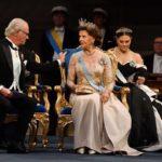 ノーベル賞授賞式と晩餐会 *スウェーデン王室の王族のティアラ、ドレスを拝見