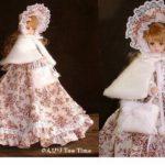 またブログ記事を無断でユーチューバーから動画にされました*ジェニーサイズと幼SDの冬風ドレス