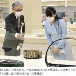 眞子さま日本伝統工芸展ご鑑賞と授賞式に出席 2016年~今年までの日本伝統工芸展ファッション
