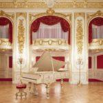 皇室 香淳皇后のエラールピアノ演奏会  赤坂離宮所羽衣の間で 夢のような世界です