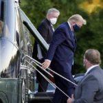 トランプ大統領 新型コロナ感染 一晩で症状悪化し軍の医療施設に入院